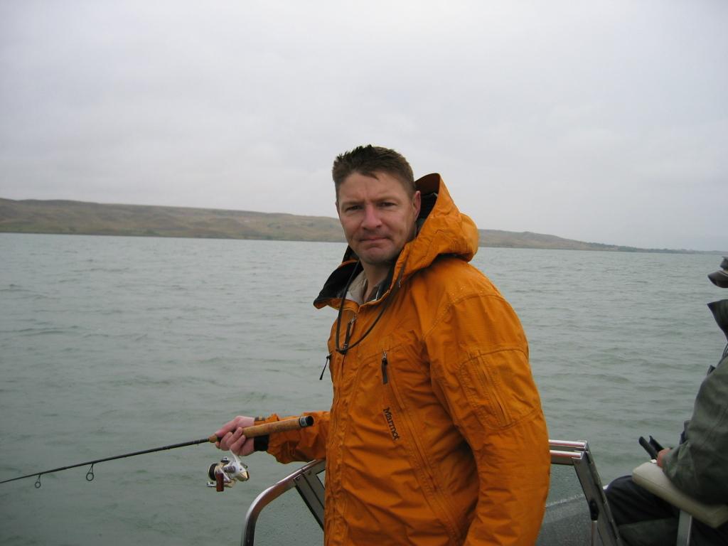 Lake Oahe Fishing August 27 2004 Wander Junkie